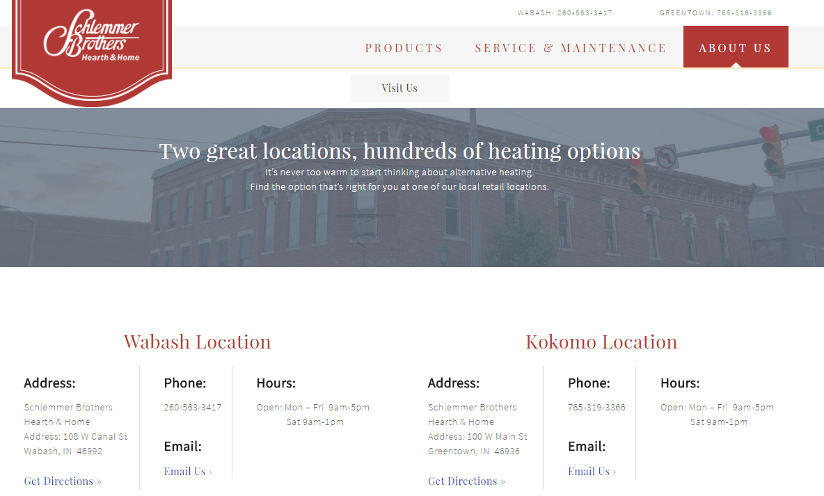 Schlemmer Brothers' new website