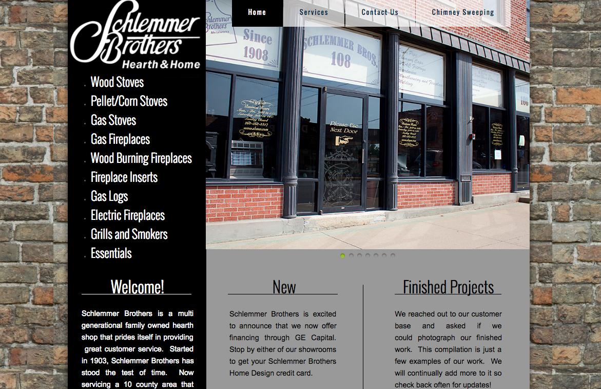 Schlemmer Brothers' old website